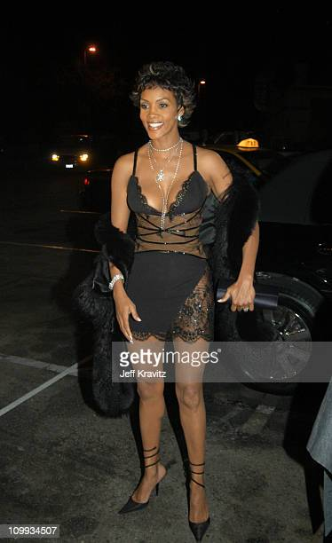 Vivica A Fox during VH1 Big in 2003 Arrivals at Universal Amphitheater in Universal City California United States