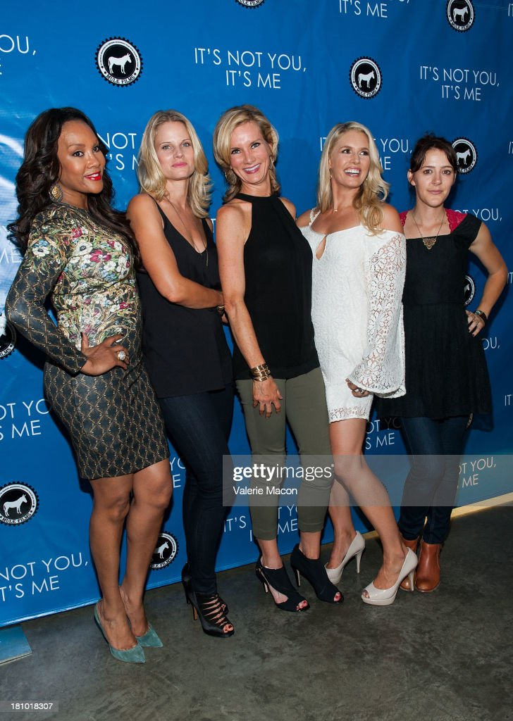 Vivica A. Fox, Joelle Carter, Beth Littleford, Jessica York and Abby Miller arrives at the premiere of 'It's Not You, It's Me' at Downtown Independent Theatre on September 18, 2013 in Los Angeles, California.