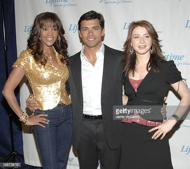 Vivica A Fox Mark Consuelos and Caterina Scorsone