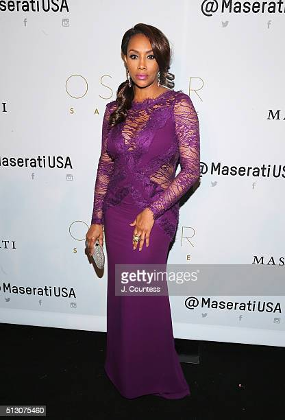Vivica Fox attends the 2016 Oscar Salute Hosted By Kevin Hart Academy Awards Screening And AfterParty at W Hollywood on February 28 2016 in Hollywood...