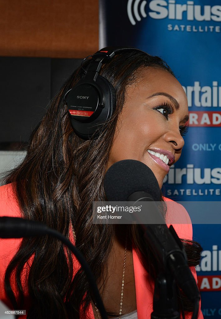 Vivica Fox is interviewed on SiriusXM's Entertainment Weekly Radio channel from Comic-Con 2014 at The Hard Rock Hotel on July 25, 2014 in San Diego, California.