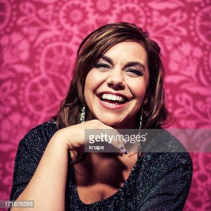 Vivid Retrato de mujer bella