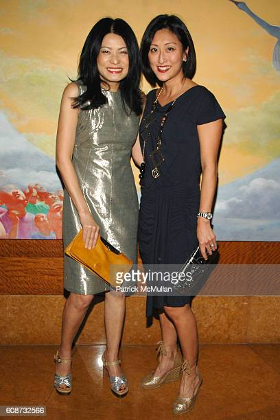 Vivienne Tam and Adelina Wong Ettelson attend MANDARIN ORIENTAL HOTEL GROUP Party for the SOTHEBY'S Contemporary Asian Art Exhibition at The Mandarin...