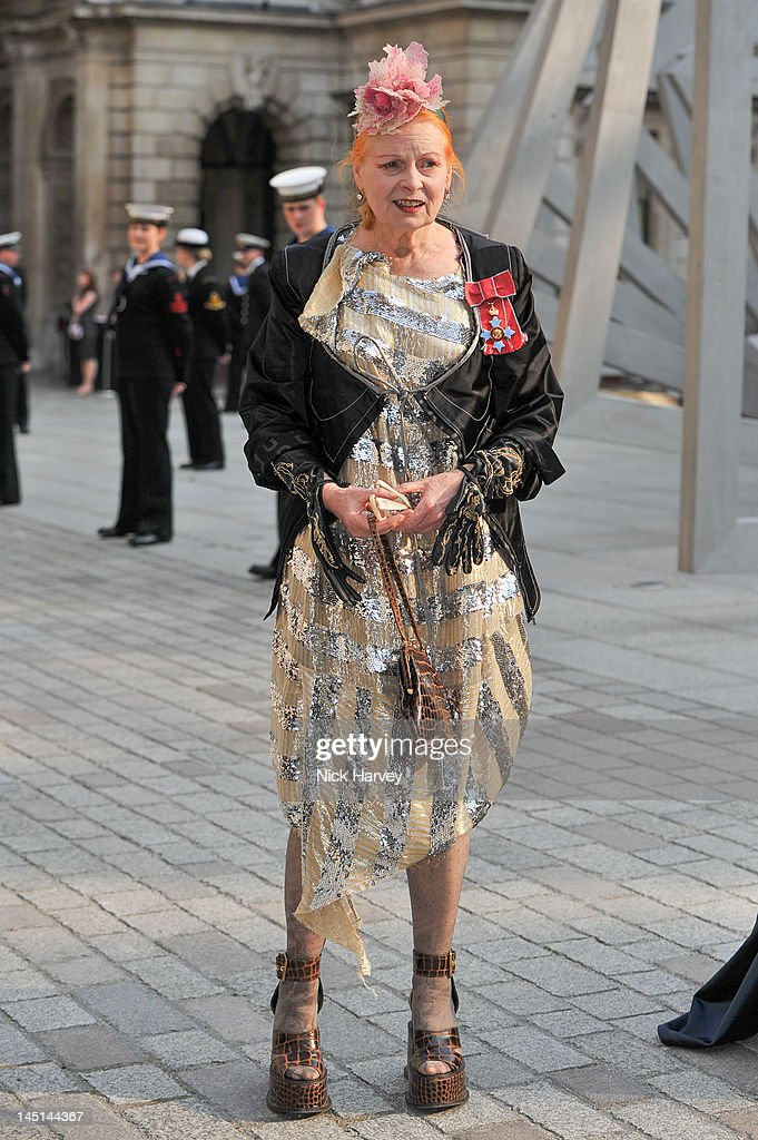 Vivienne Westwood attends A Celebration of the Arts at Royal Academy of Arts on May 23 2012 in London England