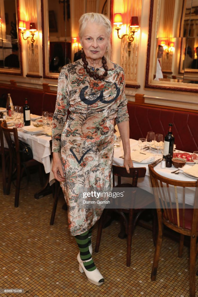 Another Magazine Dinner Party Hosted By Vivienne Westwood - Paris Fashion Week Womenswear Spring/Summer 2018