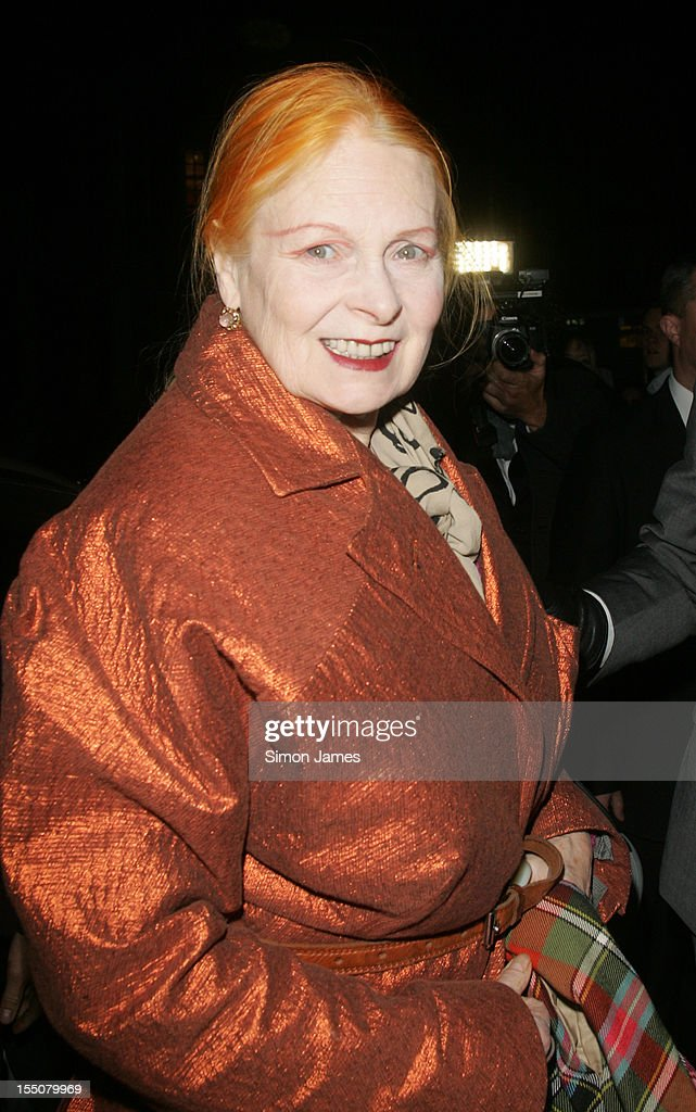 Vivienne Westwood sighting on October 31, 2012 in London, England.