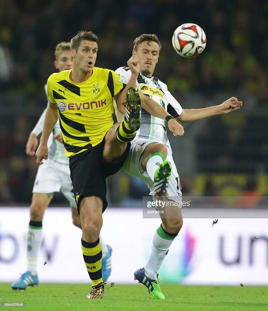 Sebastian Kehl Max Kruse Fußball 1Bundesliga Borussia Dortmund Borussia Mönchengladbach 10