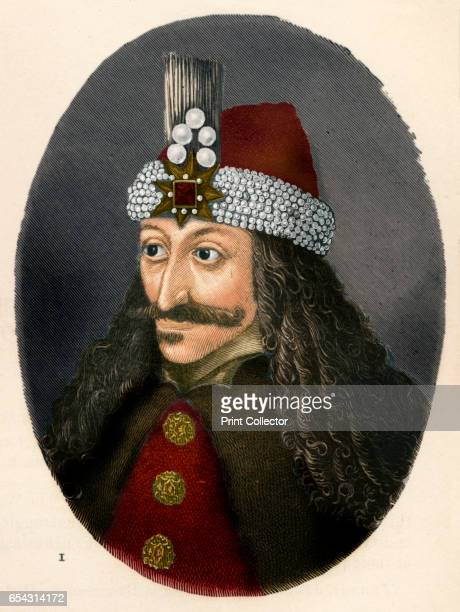 Vlad III Prince of Wallachia c1906 Vlad III Prince of Wallachia posthumously dubbed Vlad the Impaler Voivode of Wallachia From The Worlds History...