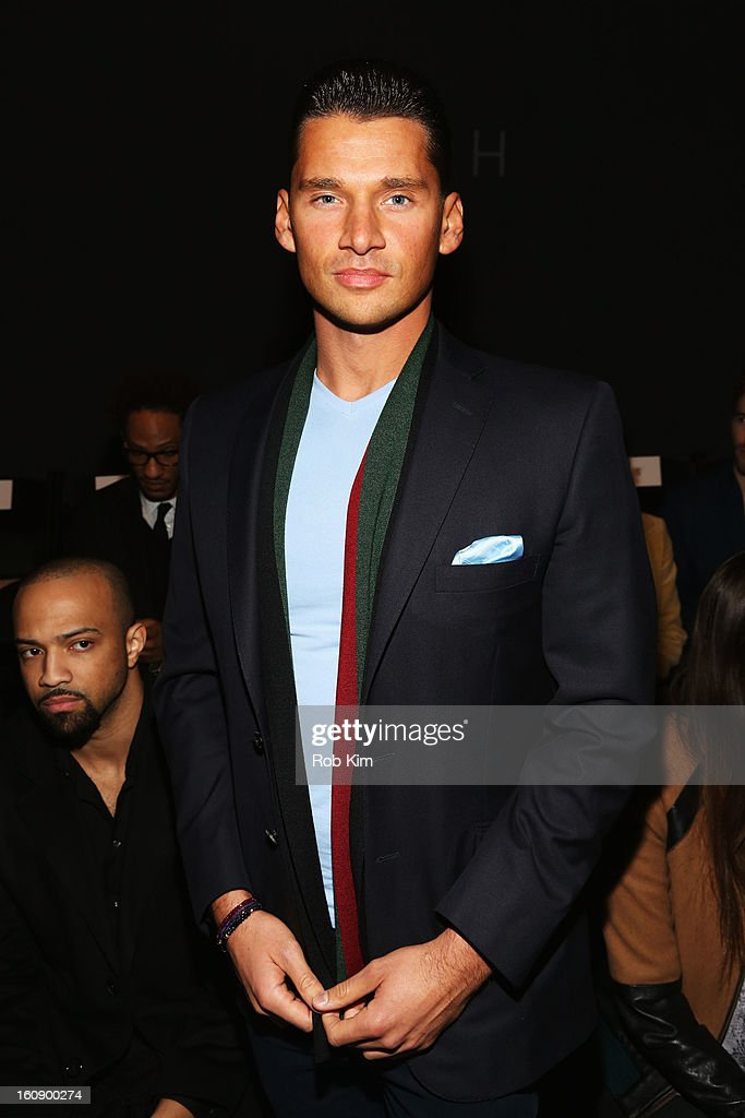Vlad Yudin attends the Sergio Davila Fall 2013 fashion show during Mercedes-Benz Fashion Week at The Studio at Lincoln Center on February 7, 2013 in New York City.