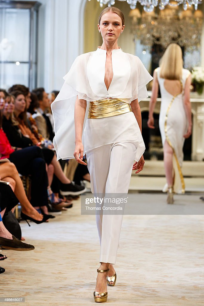 <a gi-track='captionPersonalityLinkClicked' href=/galleries/search?phrase=Vlada+Roslyakova&family=editorial&specificpeople=4172336 ng-click='$event.stopPropagation()'>Vlada Roslyakova</a> walks the runway during the Ralph Lauren resort 2015 showing on June 4, 2014 in New York City.
