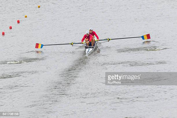 VladDragos Aicoboae ToaderAndrei Gontaru M2 during the first day of the 2013 World Rowing World Cup in Poznan Poland on 17 June 2016