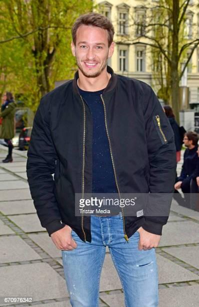 Vladimir Burlakov attends the family and friends screening of the film 'Einsamkeit und Sex und Mitleid' on April 20 2017 in Berlin Germany