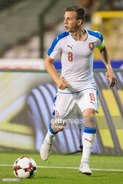 Vladimir Darida of Czech Republicduring the friendly match between Belgium and Czech Republic on June 05 2017 at the Koning Boudewijn stadium in...