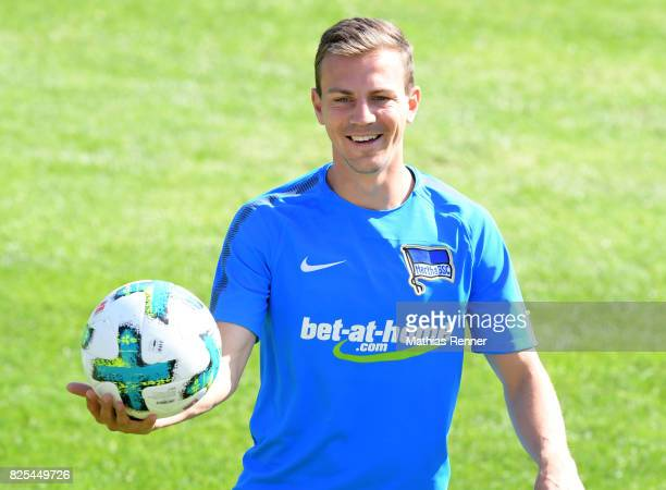 Vladimir Darida of Hertha BSC during the training camp on august 2 2017 in Schladming Austria