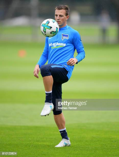 Vladimir Darida of Hertha BSC during the training on july 7 2017 in Berlin Germany
