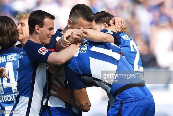 Hertha BSC v FC Augsburg - 1 Bundesliga : News Photo