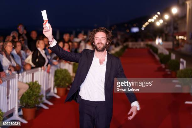 Vladimir de Fontenay attends the Winners' Red Carpet after the closing ceremony of 31st Cabourg Film Festival on June 17 2017 in Cabourg France