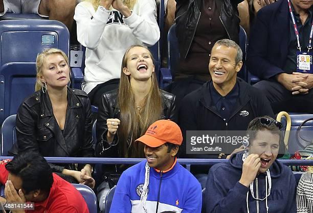 Vladimir Doronin attends the Men's Final on day fourteen of the 2015 US Open at USTA Billie Jean King National Tennis Center on September 13 2015 in...