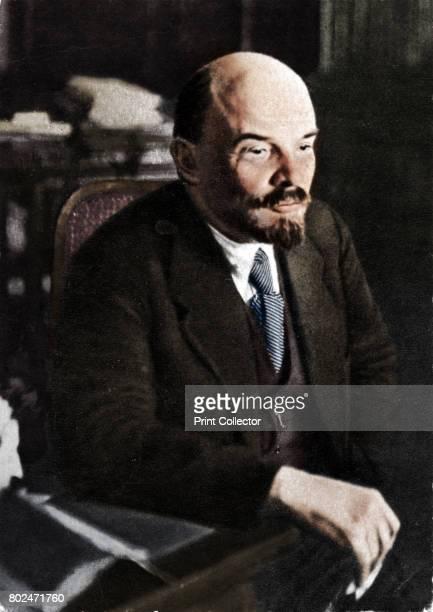Vladimir Ilich Lenin Russian Bolshevik leader 28th November' 1921 From by [ London ] Artist Unknown