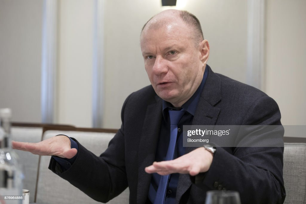 Russian Billionaire And OAO GMK Norilsk Nickel Owner Vladimir Potanin Interview