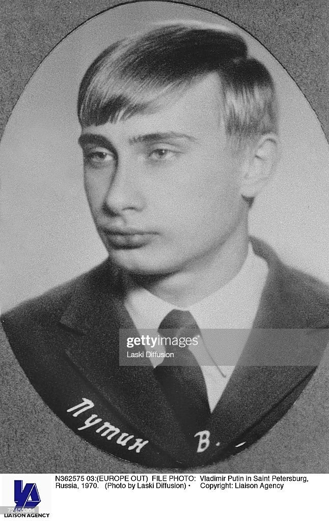 Vladimir Putin in Saint Petersburg Russia 1970