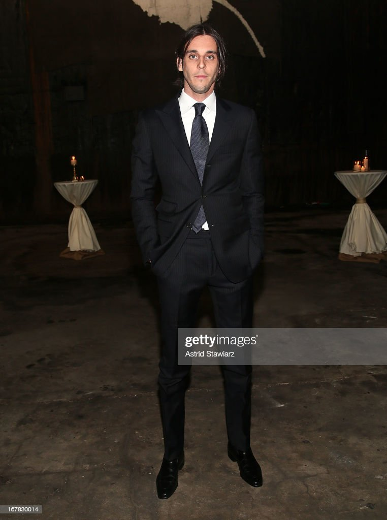 Vladimir Restoin Roitfeld attends 2013 Creative Time Spring Gala at Domino Sugar Factory on April 30, 2013 in Brooklyn burough of New York City.