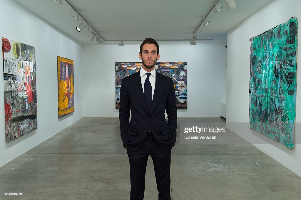 Vladimir Restoin Roitfeld attends Cardi Black Box Gallery Present Nicolas Pol hosted by Nicolo Cardi And Vladimir Restoin Roitfeld at Cardi Black Box on October 14, 2013 in Milan, Italy.