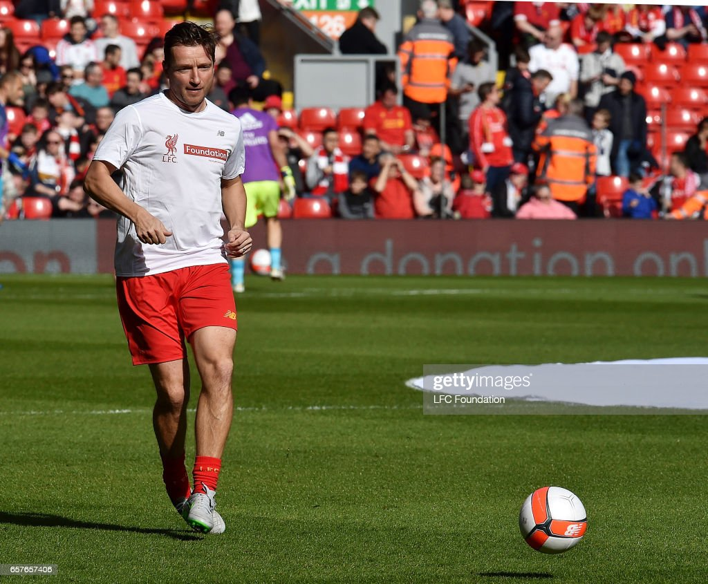 Liverpool Legends v Real Madrid Legends: LFC Foundation Charity Match