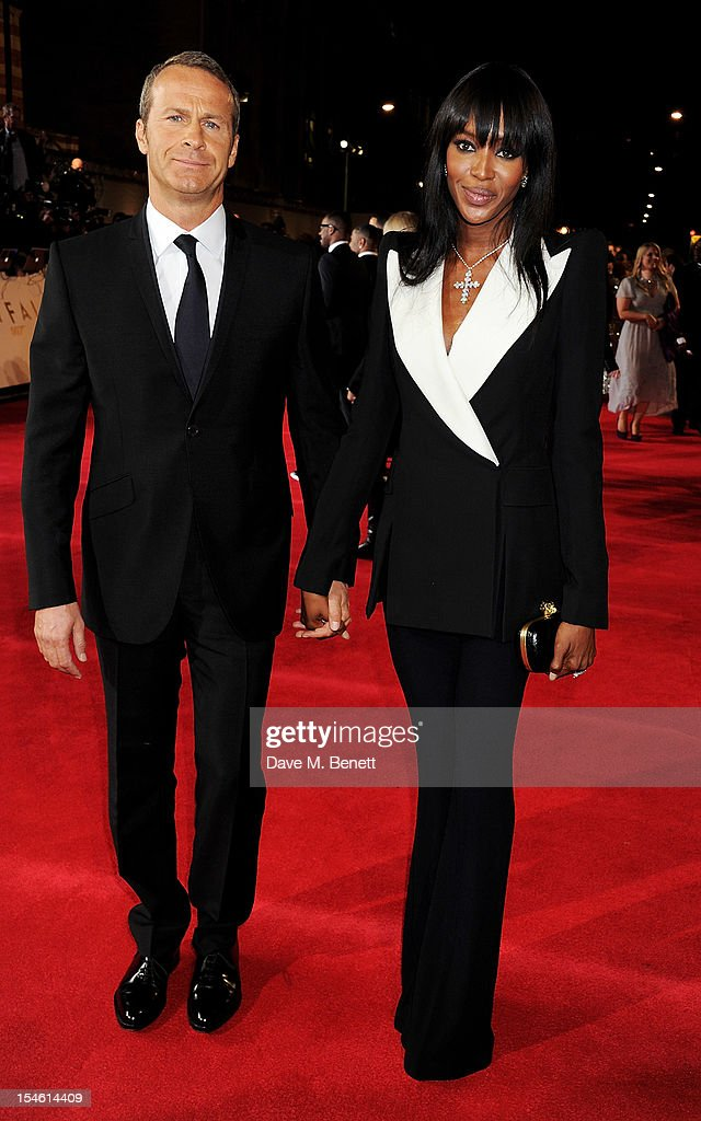 Vladislav Doronin (L) and Naomi Campbell attend the Royal World Premiere of 'Skyfall' at the Royal Albert Hall on October 23, 2012 in London, England.
