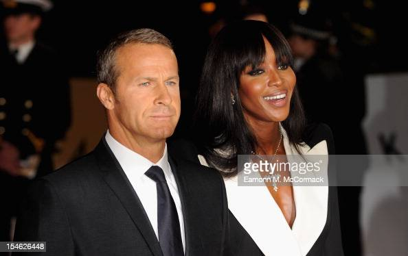 Vladislav Doronin and Naomi Campbell attend the Royal World Premiere of 'Skyfall' at the Royal Albert Hall on October 23 2012 in London England