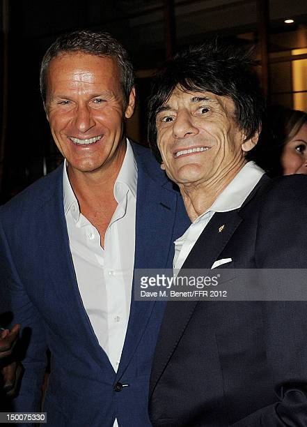 Vladislav Doronin and Ronnie Wood attend as Naomi Campbell hosts an Olympic Celebration Dinner in partnership with Fashion For Relief Interview...