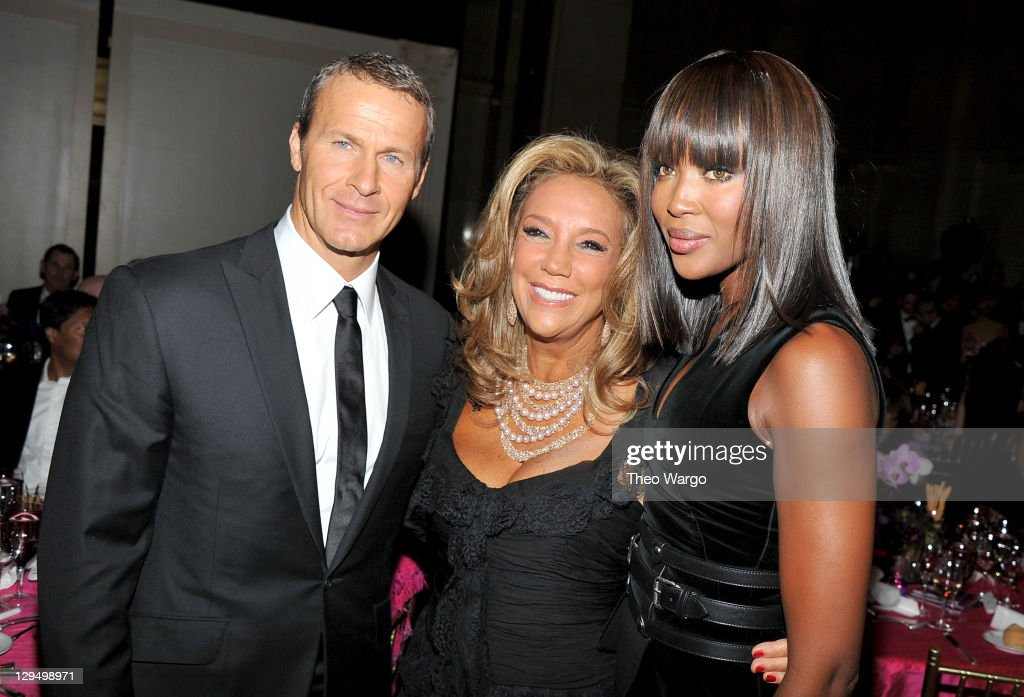Vladislav Doronin Denise Rich and Naomi Campbell attend Gabrielle's Angel Foundation for Cancer Research Hosts Angel Ball 2011 at Cipriani Wall...