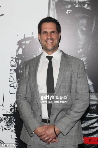 Vlas Parlapanides attends the 'Death Note' New York premiere at AMC Loews Lincoln Square 13 theater on August 17 2017 in New York City