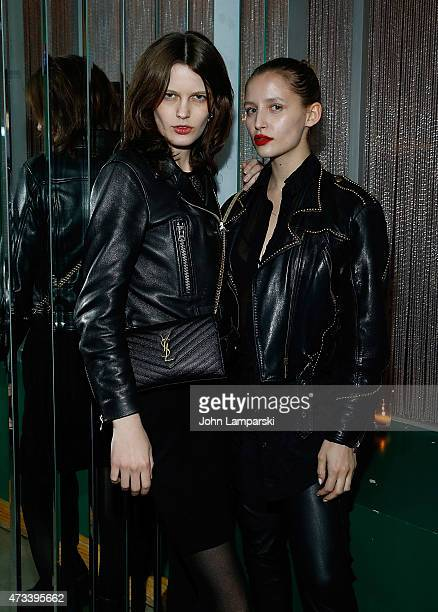 Vlata Manzanic and Vem Resoufi attend The Art Party at Tijuana Picnic on May 14 2015 in New York City