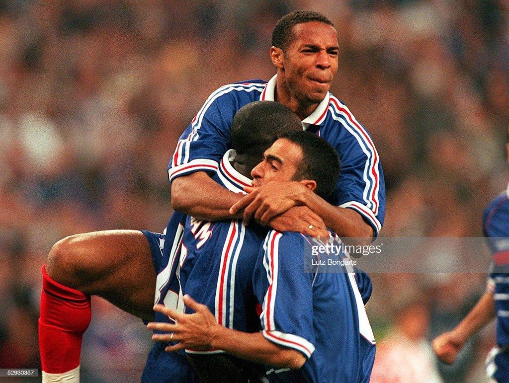 FUSSBALL WM FRANCE 98 Halbfinale Paris St Denis 08 07 98