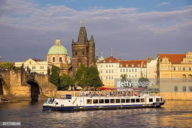 Rivière Vltava à Prague