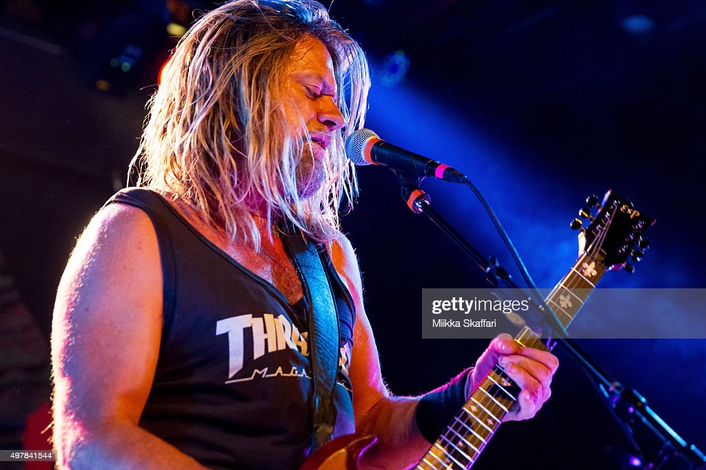 Vocalist and guitarist Pepper Keenan of Corrosion of Conformity performs at Slim's on November 18, 2015 in San Francisco, California.