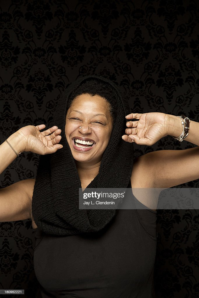 Vocalist and writer <a gi-track='captionPersonalityLinkClicked' href=/galleries/search?phrase=Lisa+Fischer&family=editorial&specificpeople=2034470 ng-click='$event.stopPropagation()'>Lisa Fischer</a> is photographed for Los Angeles Times on January 19, 2013 in Park City, Utah. PUBLISHED IMAGE.
