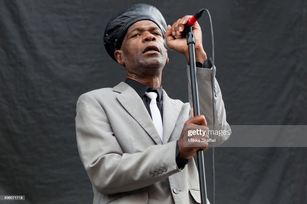 Vocalist Arthur 'Gaps' Hendrickson of The Selecter performs at The Greek Theater on August 20, 2017 in Berkeley, California.