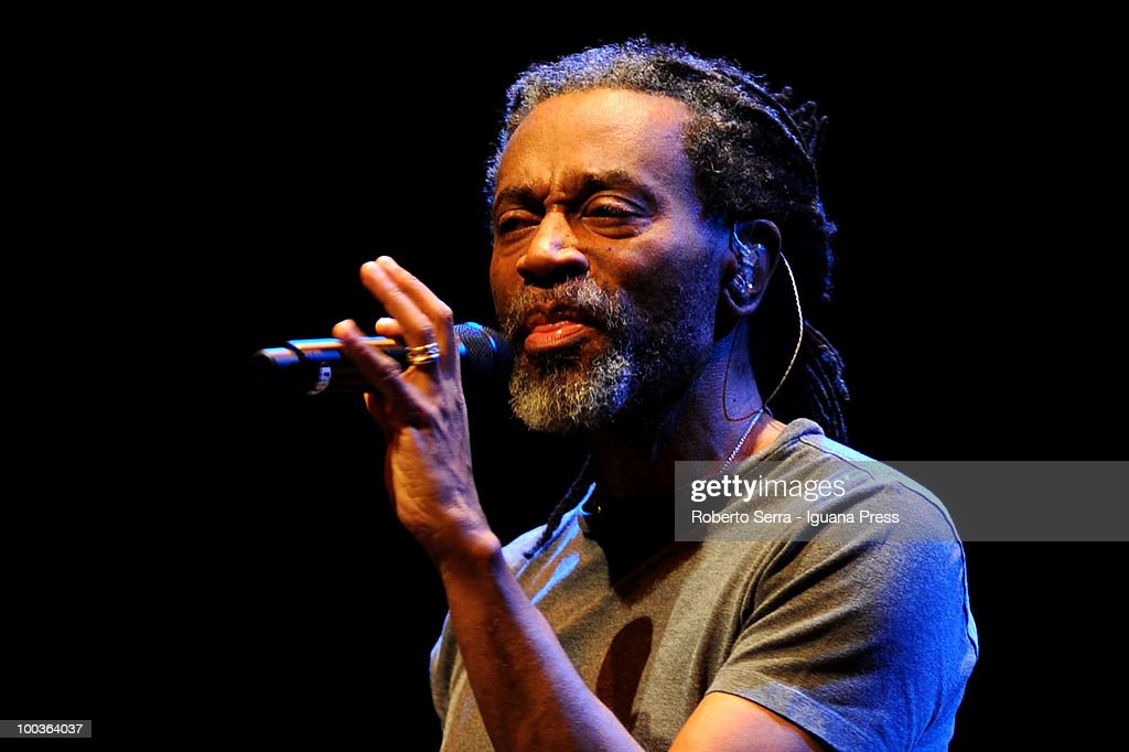 Vocalist Bobby McFerrin perform his concert Bobby McFerrin at Auditorium Manzoni on May 22, 2010 in Bologna, Italy.