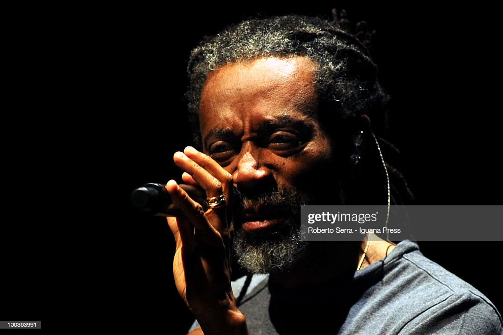 Vocalist Bobby McFerrin perform his concertBobby McFerrin at Auditorium Manzoni on May 22, 2010 in Bologna, Italy.