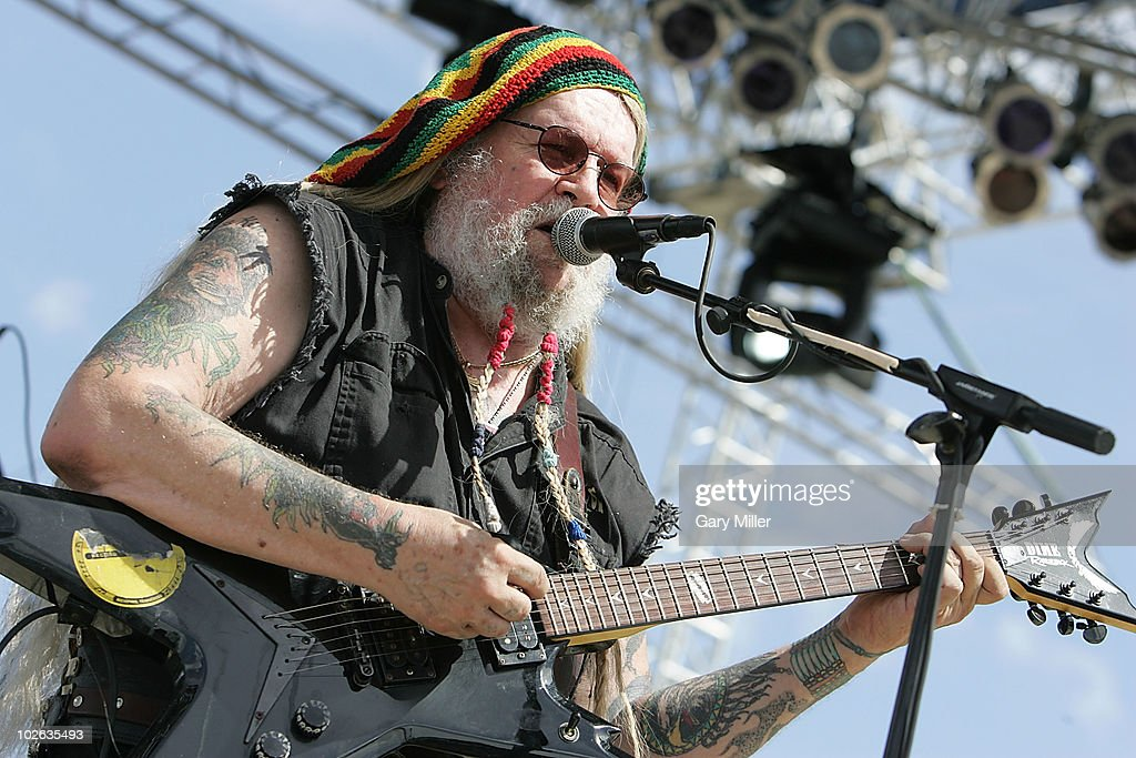 Vocalist David Allen Coe performs to a sold out crowd during Willie Nelson's 4th of July Picnic at The Backyard on July 4, 2010 in Austin, Texas.