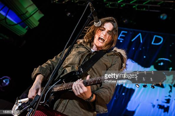 Vocalist Emily Armstrong of Dead Sara performs at Hollywood Palladium on October 5 2012 in Hollywood California