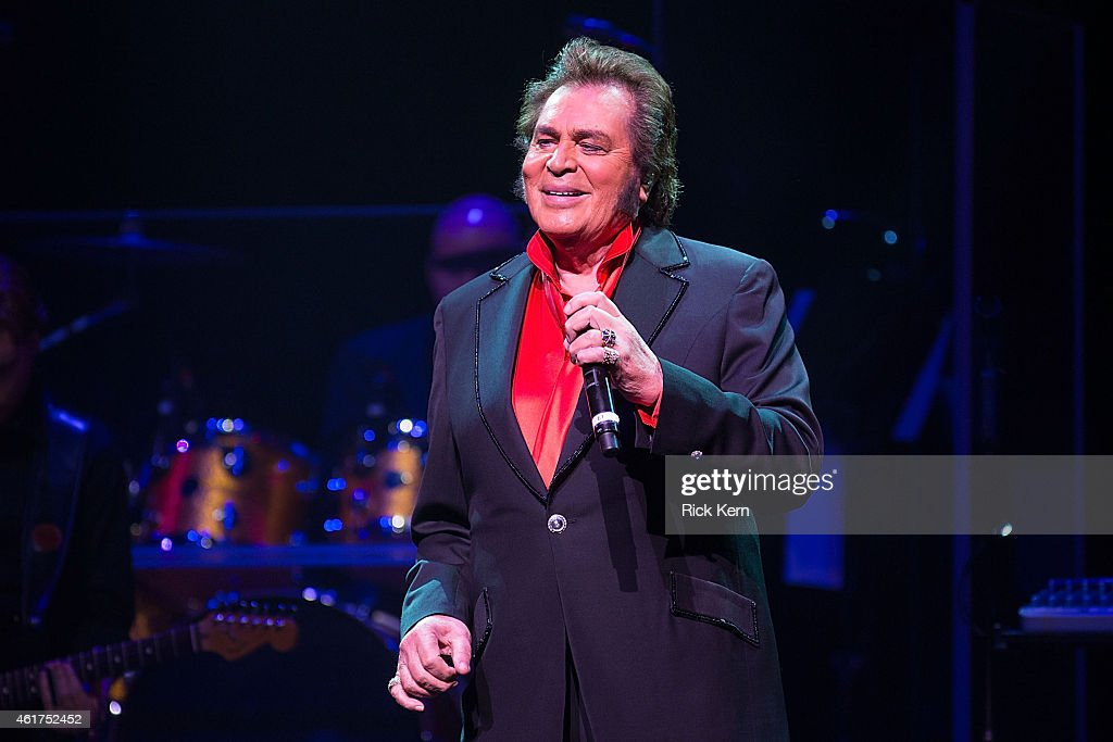 Vocalist <a gi-track='captionPersonalityLinkClicked' href=/galleries/search?phrase=Engelbert+Humperdinck+-+Singer&family=editorial&specificpeople=239022 ng-click='$event.stopPropagation()'>Engelbert Humperdinck</a> performs in concert at ACL Live on January 18, 2015 in Austin, Texas.