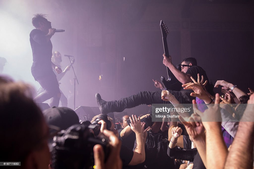 The Dillinger Escape Plan Performs At UC Theatre