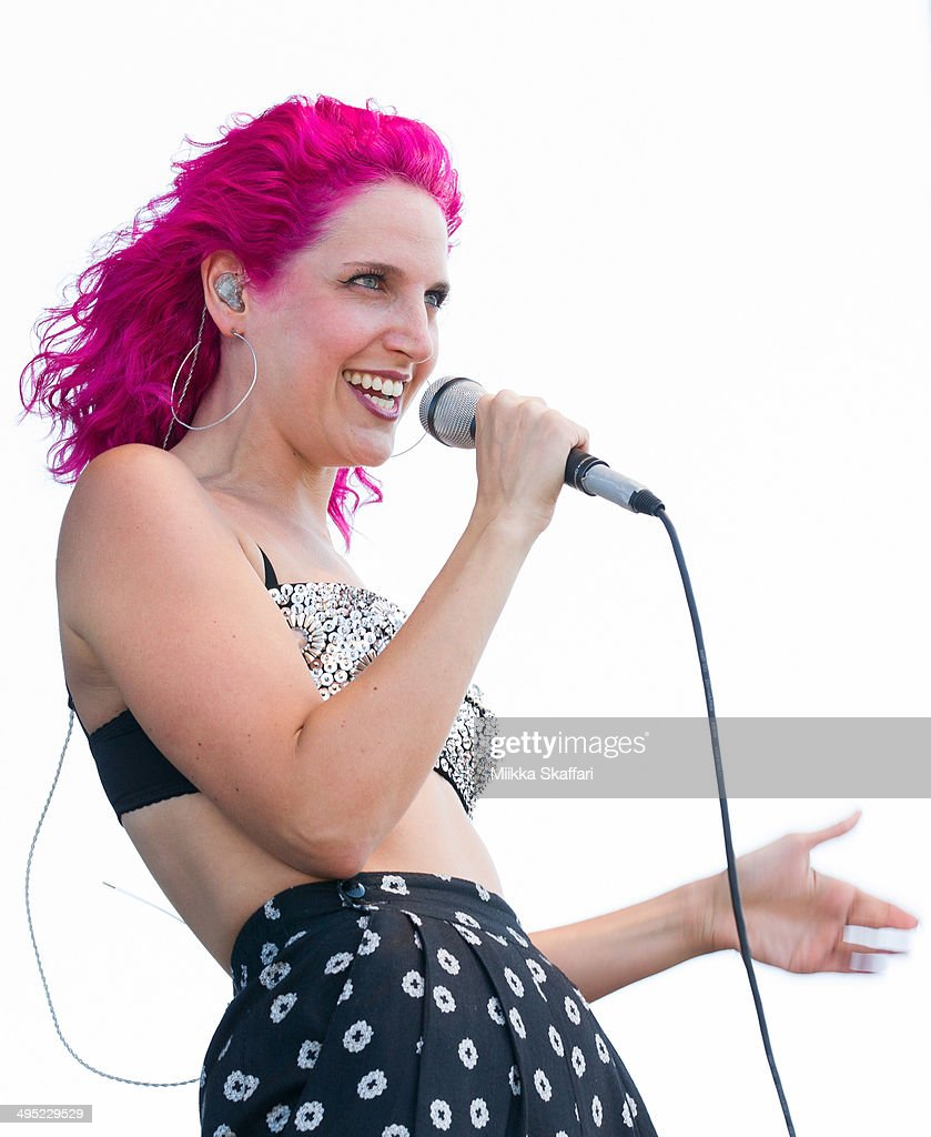 Vocalist Lizzy Plapinger of MS MR performs at Live 105 BFD on June 1, 2014 in Mountain View, California.