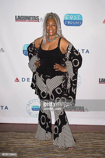 Vocalist Mary Wilson attends FestForums at The Fess Parker A Doubletree by Hilton Resort on November 21 2016 in Santa Barbara California