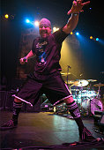Vocalist Mike Muir of Suicidal Tendencies performs live onstage at Egyptian Room at Old National Centre on December 4 2014 in Indianapolis Indiana