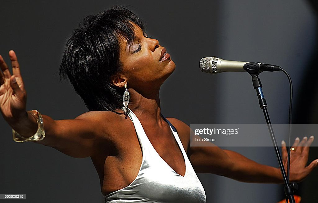 Vocalist Nnenna Freelon performs Saturday June 15 during the 24th Annual Playboy Jazz Festival at the Hollywood Bowl