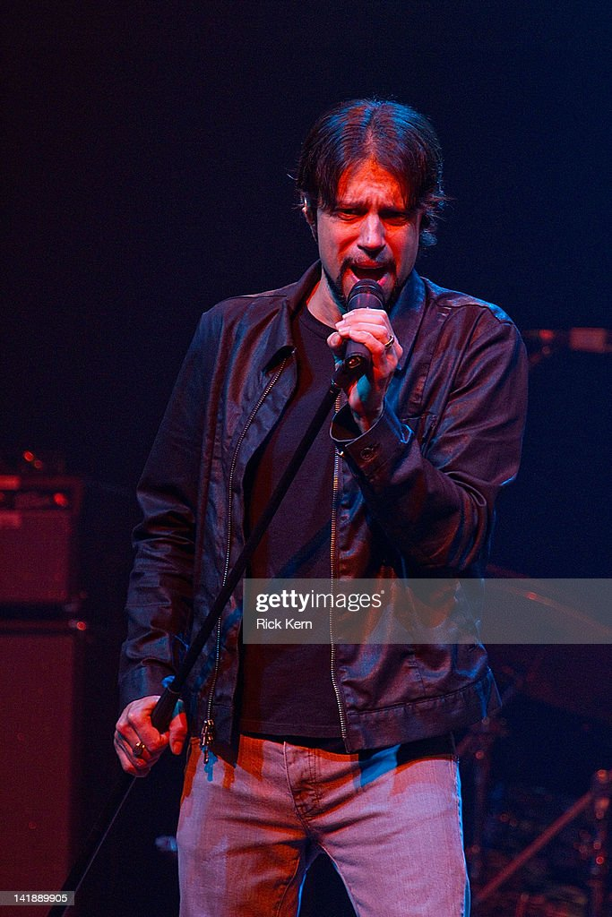 Vocalist Noah Hunt of the Kenny Wayne Shepherd Band performs as part of the Experience Hendrix Tribute at ACL Live on March 24, 2012 in Austin, Texas.